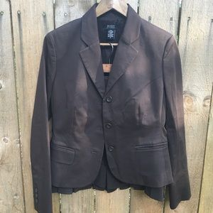 Body by Victoria Brown Skirt Suit EUC sz 8